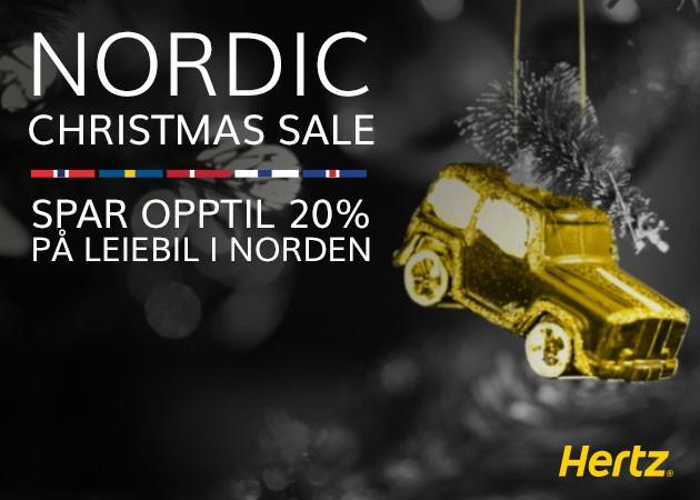 f2250c9d Skal du på turné eller besøke noen av Nordens flotte julemarkeder? Uansett  hva du skal i desember har Hertz leiebilen som passer for deg.